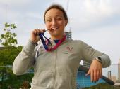 Europei di nuoto, bronzo nei Master per Simona Corrado