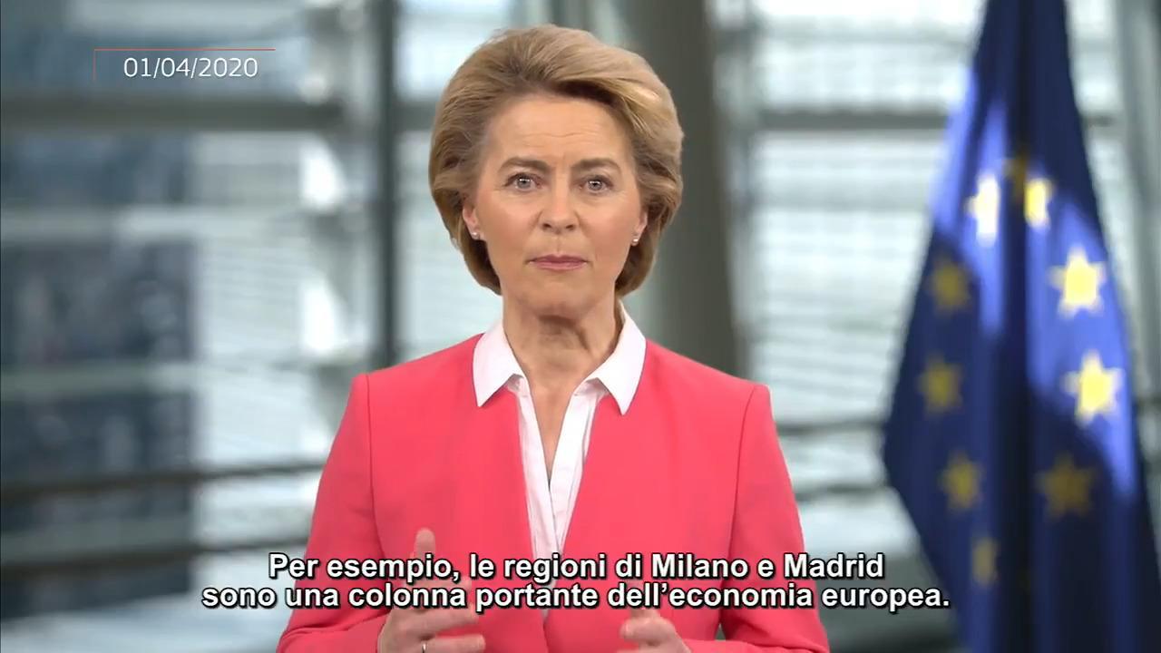 Ursula von der Leyen: Imparato lezione 2008, con Sure manteniamo posti di lavoro