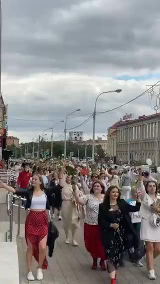 Bielorussia, si moltiplicano marce delle donne e scioperi