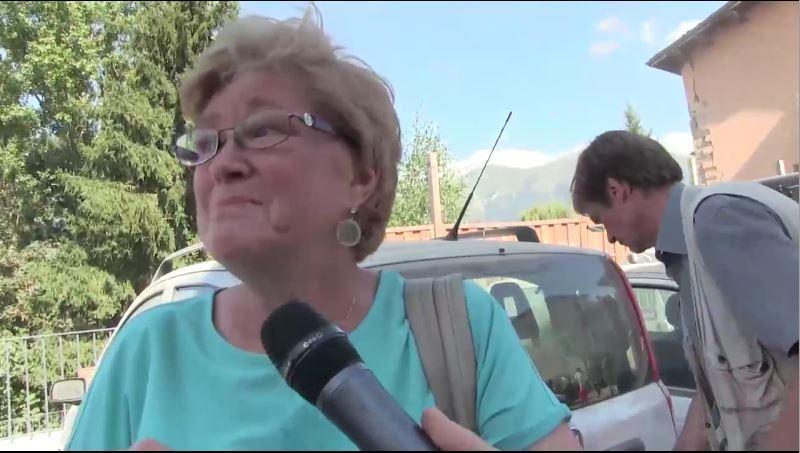 Terremoto centro Italia: il ricordo di una sopravvissuta